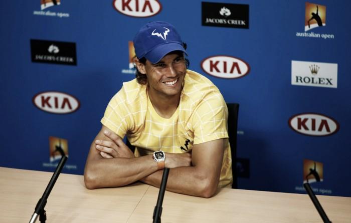 Rafael Nadal: ''Digamos que no he tenido suerte, pero él tampoco''
