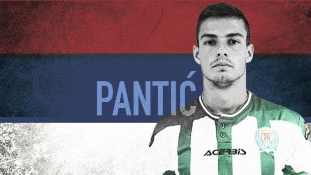 Pantic, convocado por la Selección Sub-21 de Serbia
