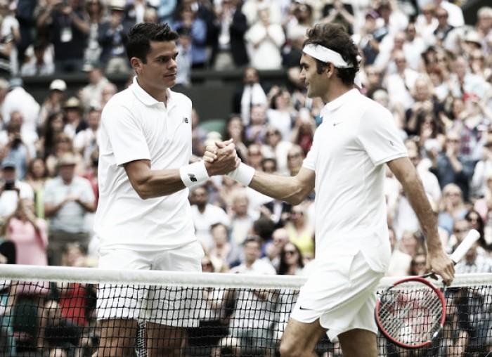 Wimbledon quarterfinal preview: Milos Raonic vs Roger Federer