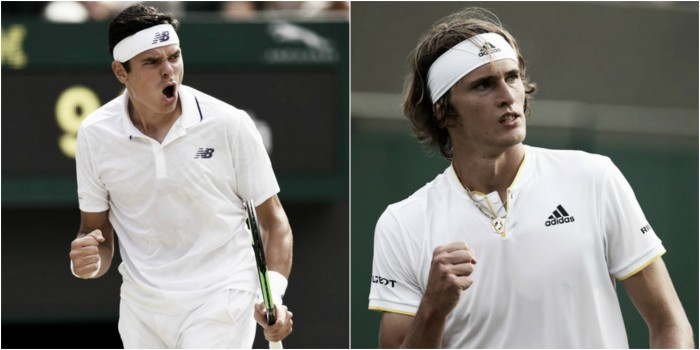 Wimbledon fourth round preview: Milos Raonic vs Alexander Zverev