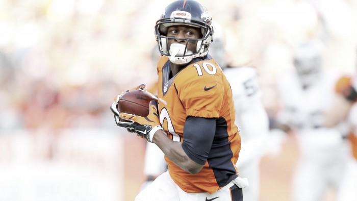 Broncos prologa vínculo com wide receiver Emanuel Sanders por três anos