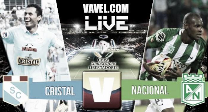 Nacional vsSporting Cristalen vivo onlineen Copa Libertadores 2016 (0-1)