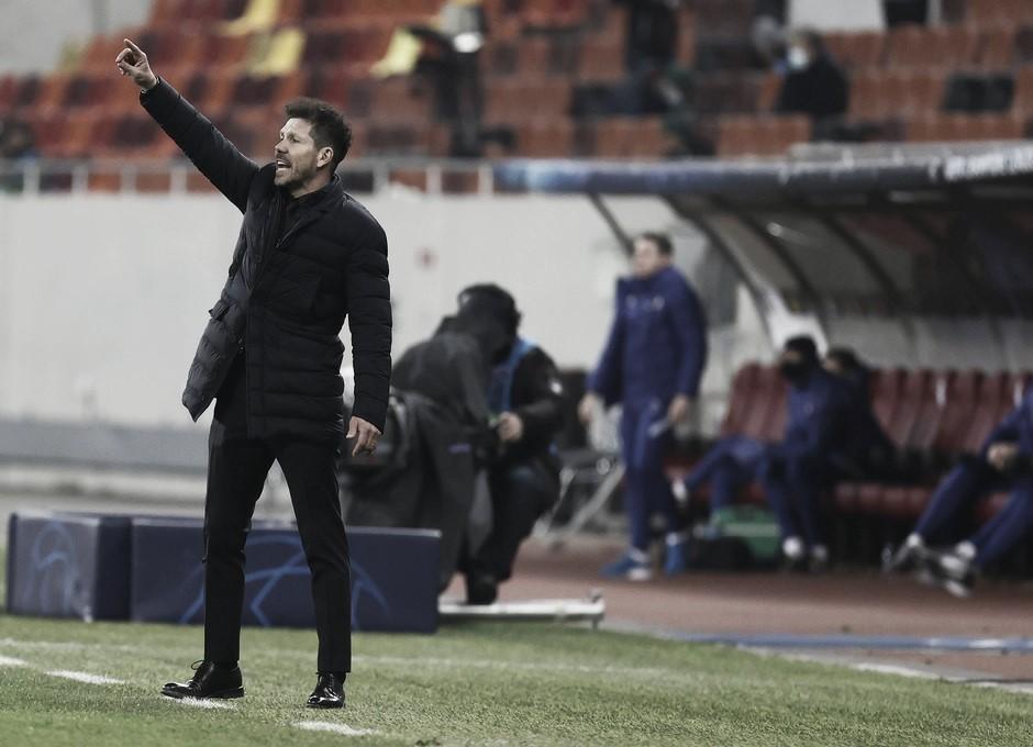 """Simeone: """"Lo único que vale mañana es ganar"""""""
