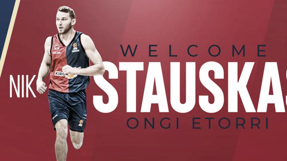 Nik Stauskas, talento NBA para el perímetro del Baskonia