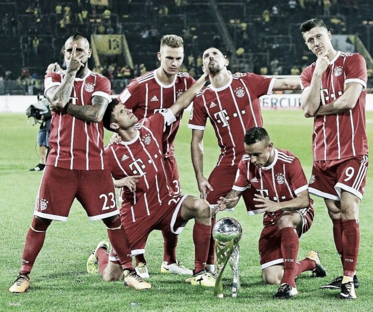 Sin James, Bayern Múnich se coronó campeón de la Supercopa de Alemania