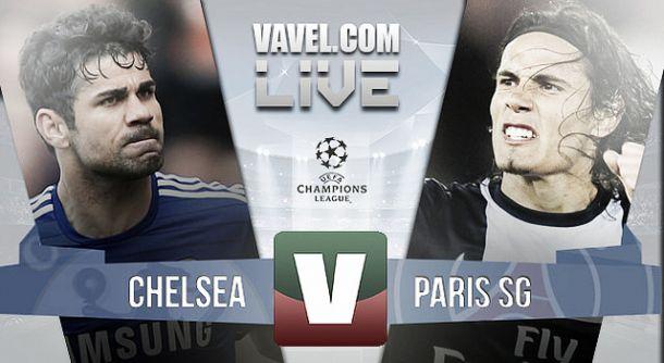 Chelsea x PSG    na Liga dos Campeões (2-2)