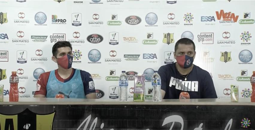 """Aldo Bobadilla: """"Teníamos la confianza de llevarnos un empate"""""""