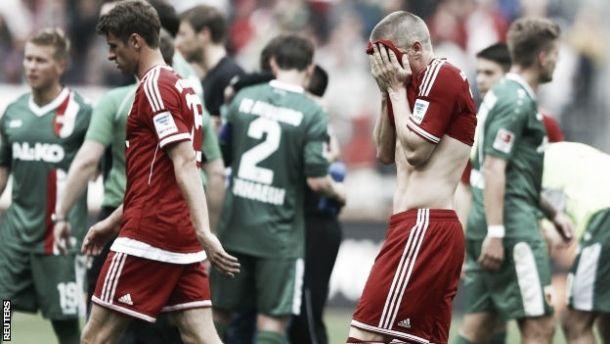 Derrota diante do Augsburgo: Bayern em jejum desde o fartote do 6-1