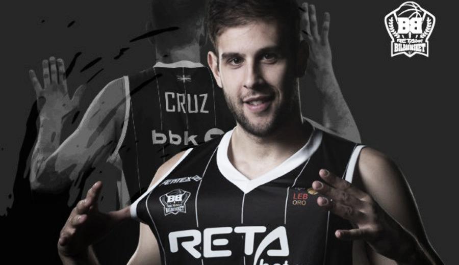 Iván Cruz continuará en el RETAbet Bilbao Basket
