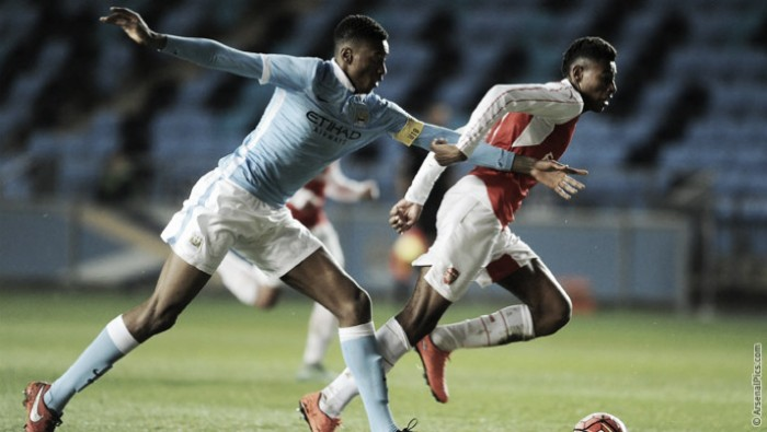 As it happened: City's youngsters beat ten-man Gunners to seal FA Youth Cup final spot