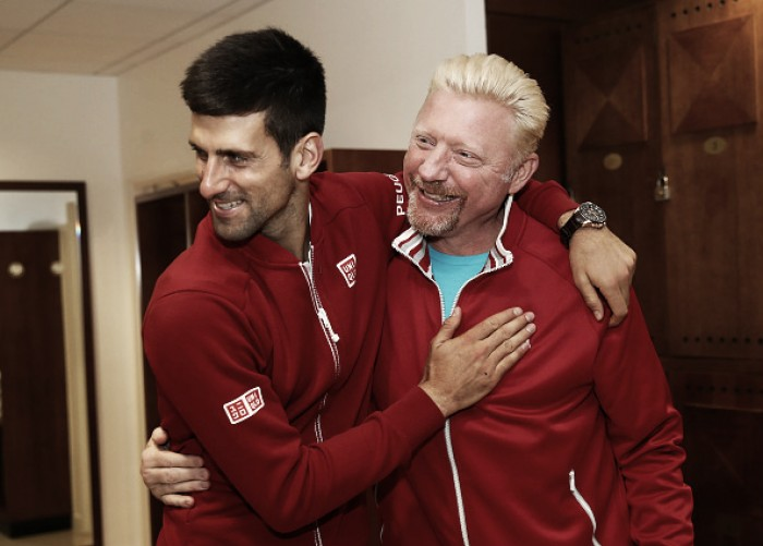 Novak Djokovic ends three-year partnership with Boris Becker