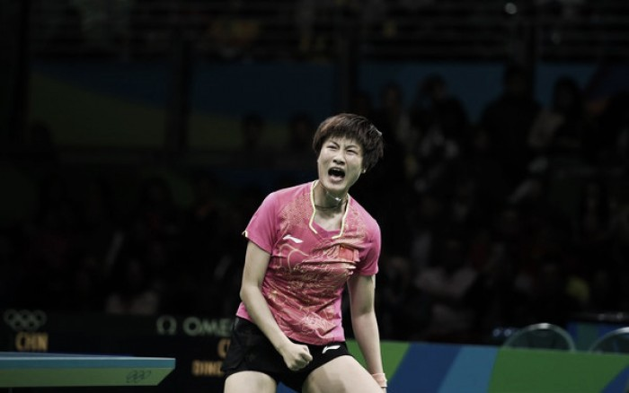 Rio 2016: Li Xiaoxia collapses; Ding Ning captures first gold medal ...