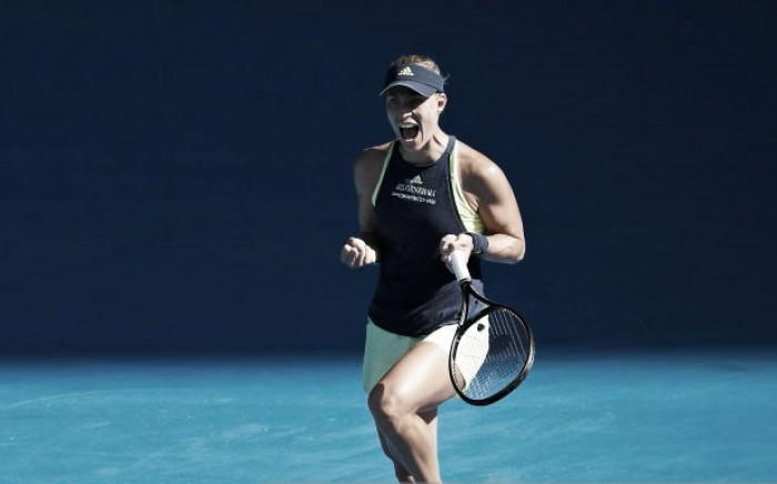 WTA Doha: Angelique Kerber got revenge in dramatic style against Johanna Konta