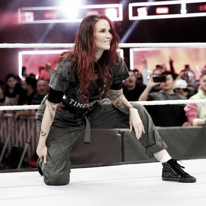 Lita Pays Tribute to Women of the Past and Times Up
