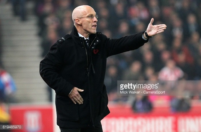 Bob Bradley holds 'honest' dressing room team talk after Swansea lose at Stoke