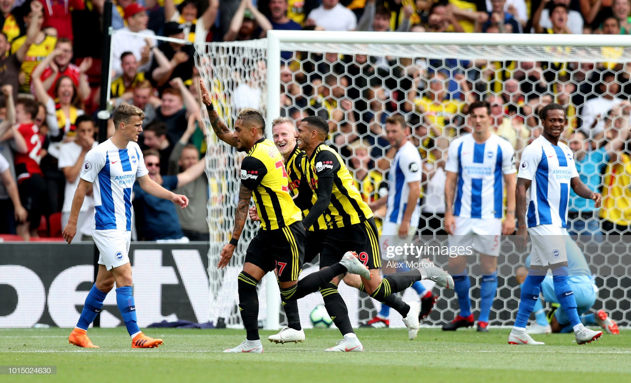 Watford vs Brighton & Hove Albion Preview: Will history repeat itself on opening weekend?