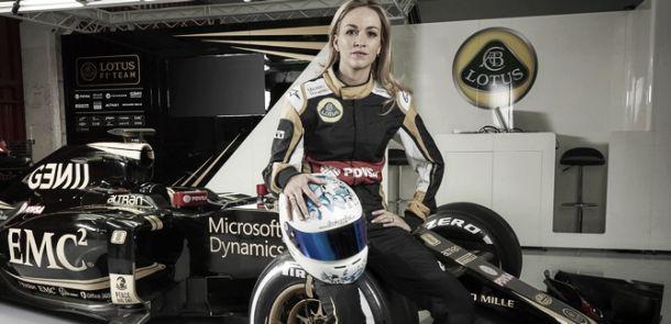 Carmen Jordá, nuevo piloto de desarrollo de Lotus