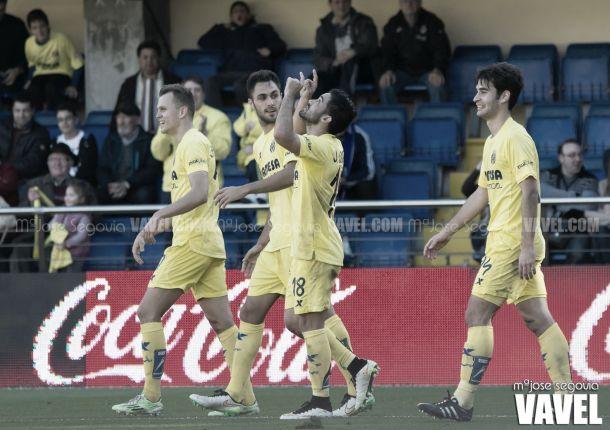 Fotos e imágenes del Villarreal 3 - 0 Deportivo de la Coruña, de la 16ª jornada de liga BBVA