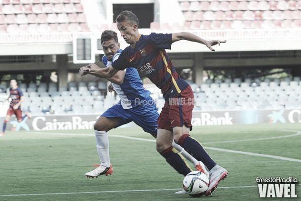 FC Barcelona B - Alcoyano: puntuaciones del FC Barcelona B, jornada 8 de la Segunda División B