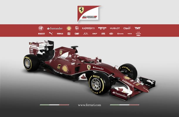 Formula 1, svelata la nuova Ferrari SF15-T