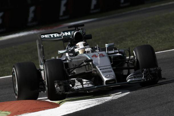 Monza, ancora Hamilton: primo anche nelle seconde libere
