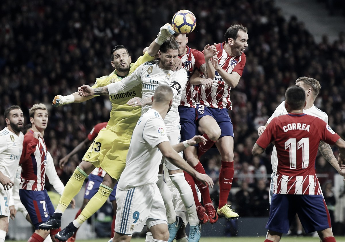 Real Madrid- Atlético de Madrid, un derbi de contrastes