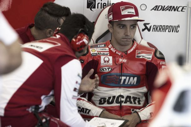 MotoGP, nuovo infortunio per Iannone