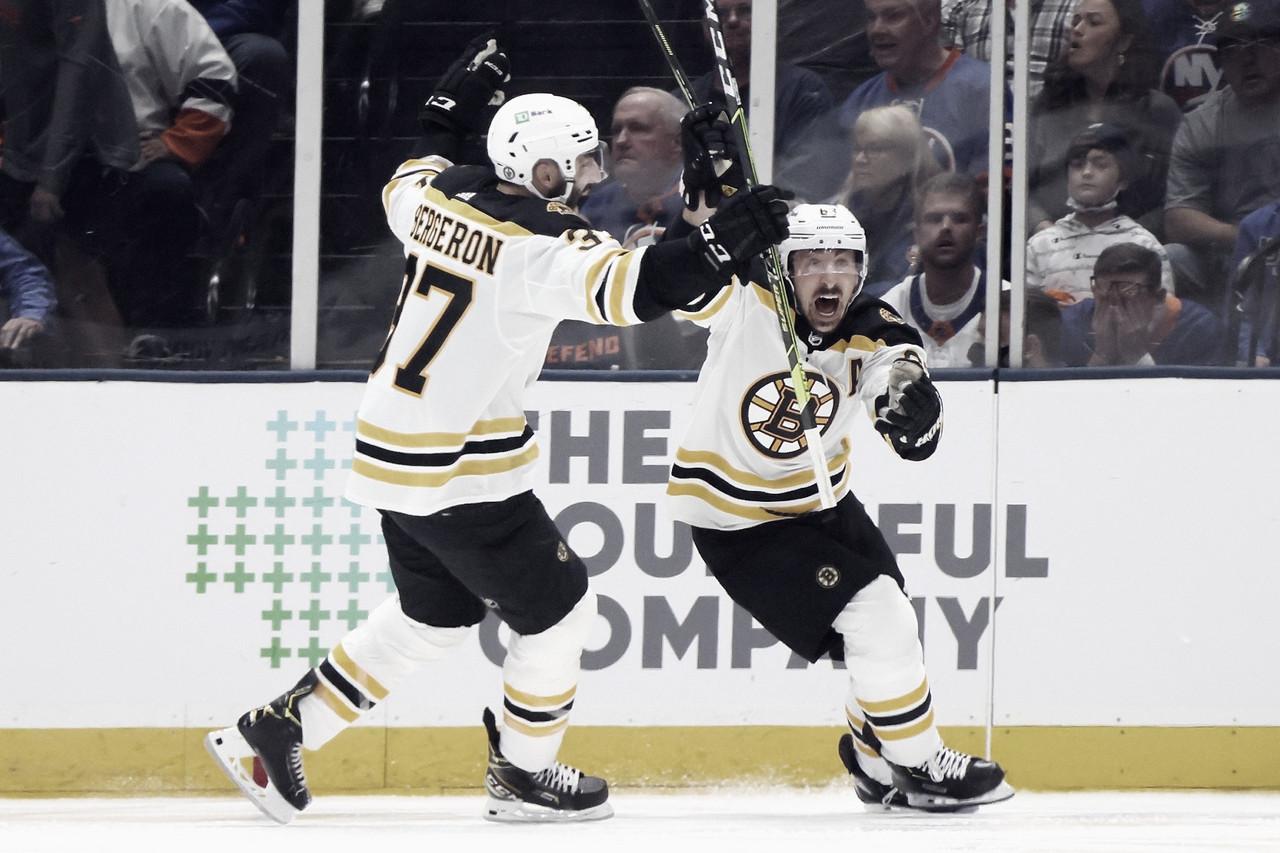 Brad Marchand se disfraza de héroe para los Bruins