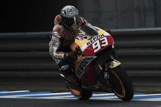 """Motegi, Marquez: """"Setup da migliorare, la mano è ok. Domani puntiamo al podio"""""""
