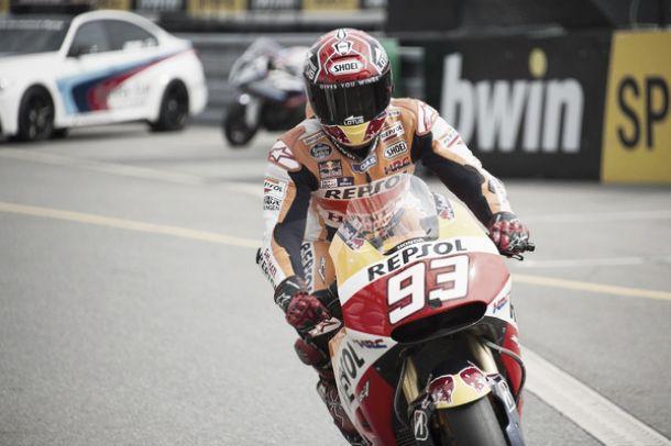 """Brno, Márquez contento a metà: """"Era difficile vincere, ma l'obiettivo era stare davanti a Rossi"""""""