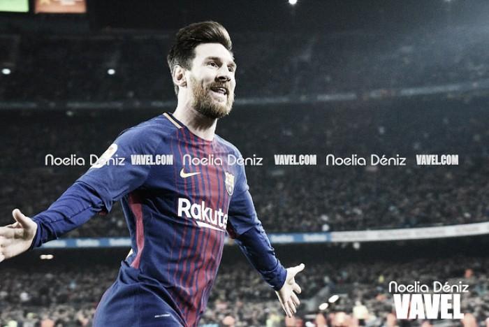 300 veces Messi en el Camp Nou