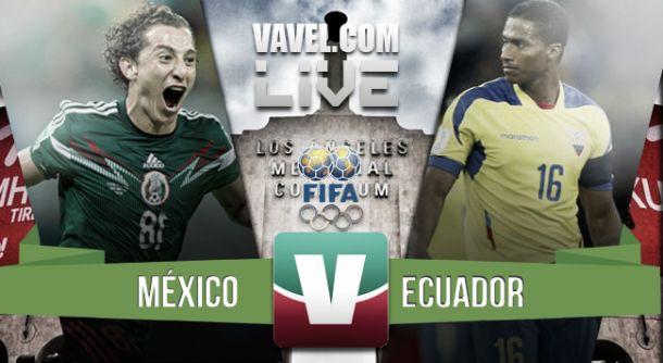 Resultado México - Ecuador en Partido Amistoso 2015 (1-0)