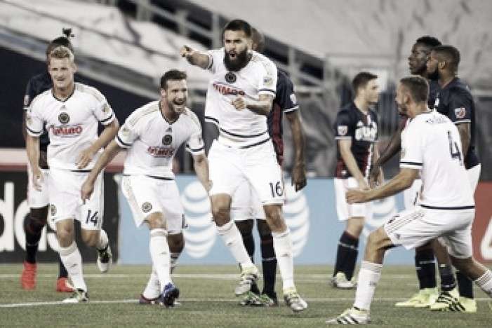 Alejandro Bedoya debuts as Philadelphia Union dominate New England Revolution, 4-0
