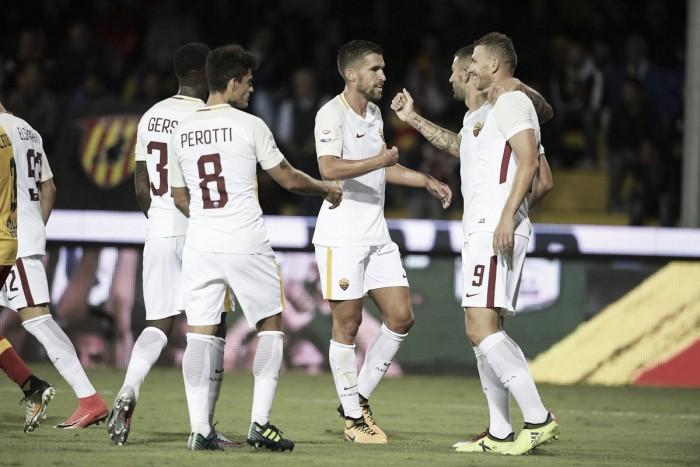 Dzeko hurga en la herida del Benevento