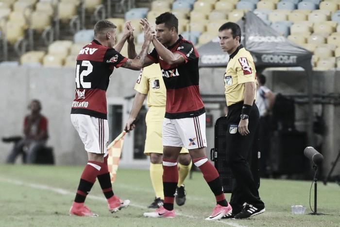 Ederson retorna, mas Flamengo fica no empate sem gols diante do Atlético-GO pela Copa do Brasil
