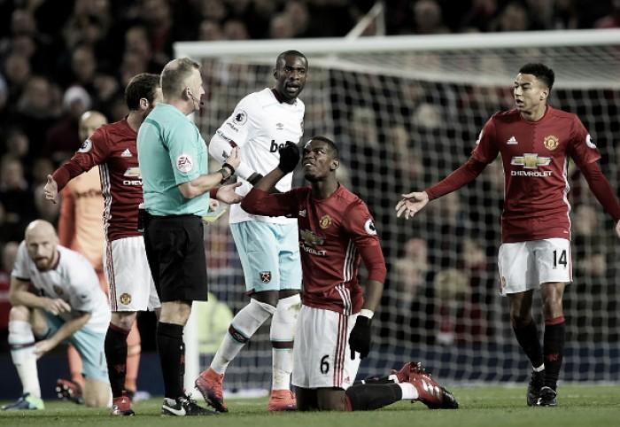 United pressiona, mas fica no empate com West Ham e segue distante das primeiras posições