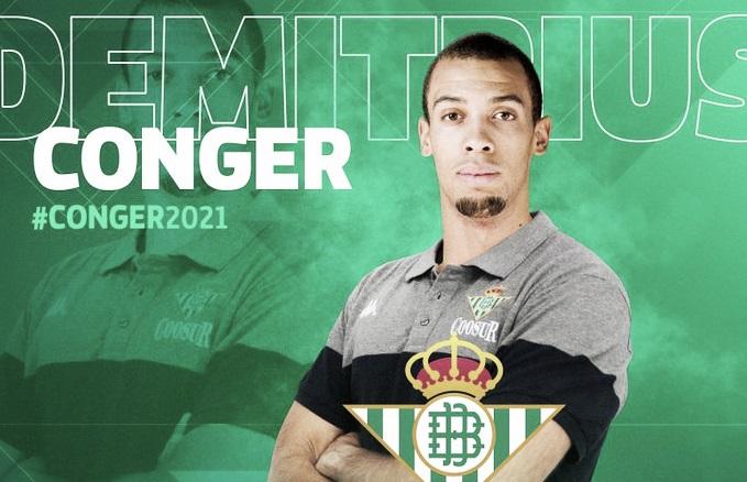 El Coosur Real Betis incorpora al alero Demitrius Conger