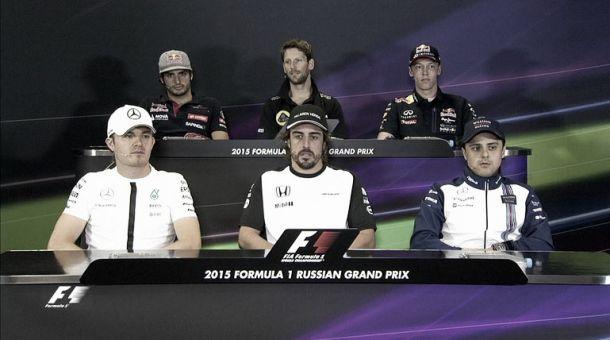 Formula 1, Russia: le parole dei piloti in conferenza stampa