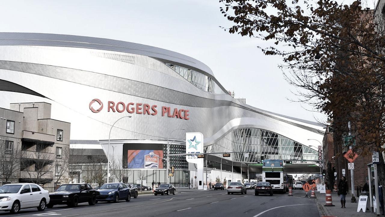 El Rogers Place en Edmonton, una de las sedes de los pasados playoffs - NHL.com