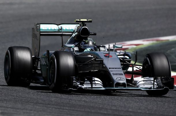 Test Barcellona, Rosberg in testa nella prima giornata