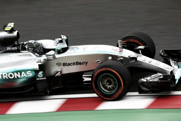Suzuka, Nico Rosberg torna in pole position