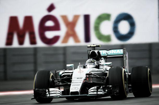 Messico, Rosberg comanda le terze libere