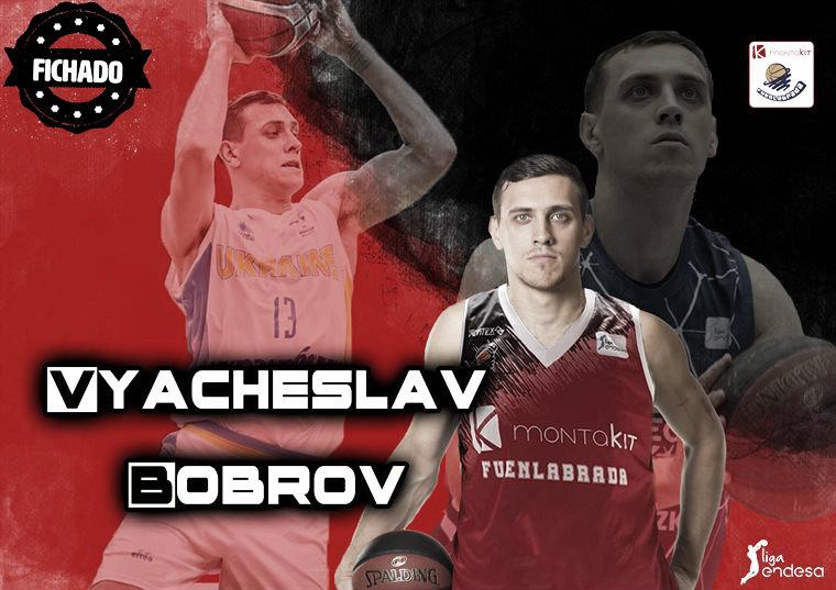 Vyacheslav Bobrov sustituye a Chema González en el Montakit Fuenlabrada