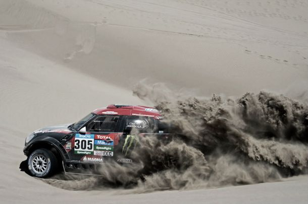 Dakar 2015, Terranova vince la settima tappa. Tra i camion domina Loprais
