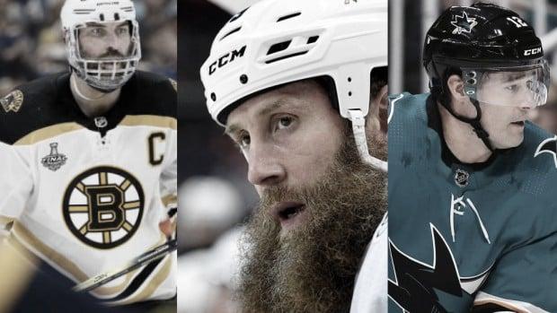 Chara, Thornton y Marleau, historia viva de la NHL