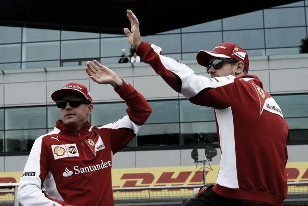 """Silverstone, Vettel salva la Ferrari: """"Podio meritato"""". Raikkonen: """"Ho deciso io di rientrare"""""""