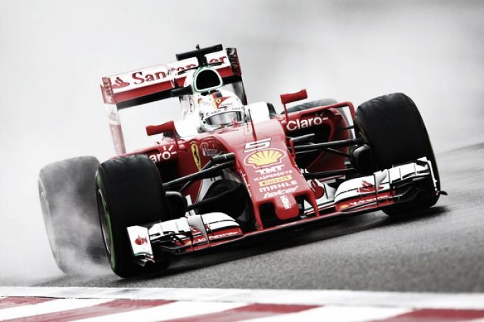 Shanghai, FP3: Vettel davanti a tutti sotto la pioggia