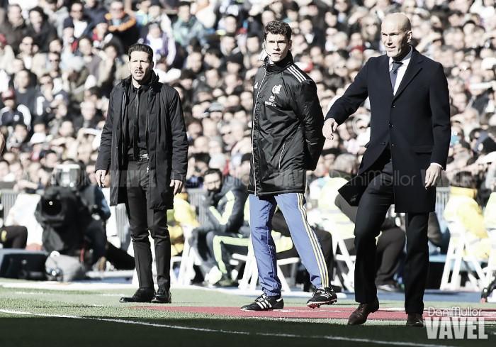Zidane, aquí manda el 'Cholo'