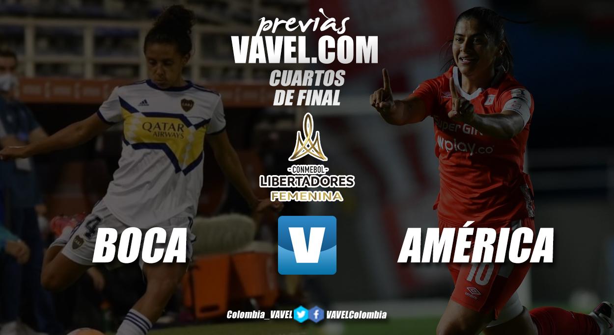 Previa Boca Juniors vs América: por un primer tiquete a las semifinales