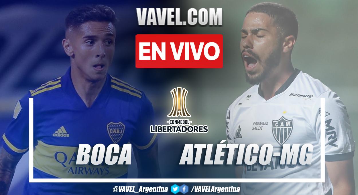 Resumen: Boca 0-0 Atlético-MG en octavos de final (ida) por Copa Libertadores 2021